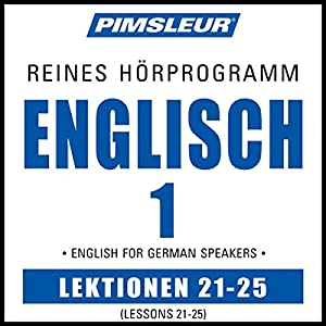 ESL German Phase 1, Unit 21-25 Audiobook