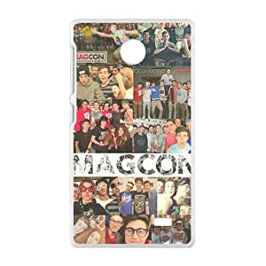 ZXCV Magcon people gather picture Cell Phone Case for Nokia Lumia X