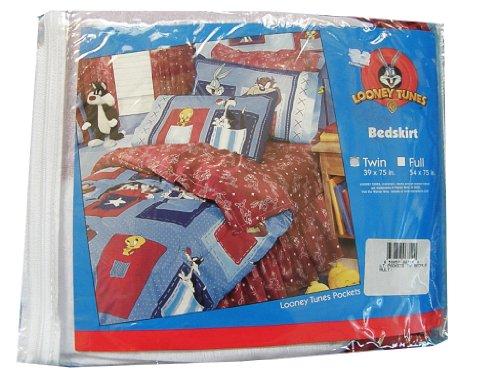 Dan River Bedskirt - Looney Tunes Pockets Full Size Bedskirt