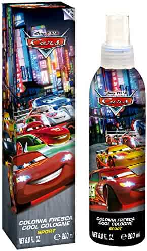 Disney Pixar Cars for Kids Cool Cologne Sport Spray, 6.8 Ounce