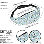 Hstyer Fashion New Printing Fanny Pack Men Waterproof Cactus Waist Pack Man Money Belt for Travel