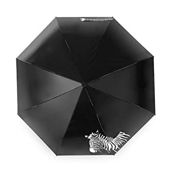 CHRISLZ Paraguas del Mapa Mundial Paraguas Automático Sombrilla Plegable Paraguas Paraguas a Prueba de Viento /