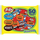 Hershey's All Time Greats Snack Size Assortment (Kit Kat, Reese's, Almond Joy & Hershey's), 26.21-Ounce Bags (Pack of 2)