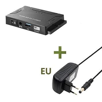 Fgyhty USB 3.0 a IDE/SATA HDD Convertidor Multifuncional Kit ...