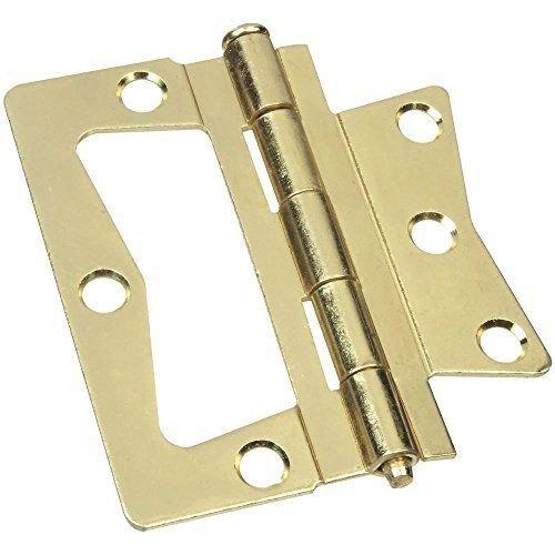 3' Non Mortise Hinge - Anvil Mark 3'', Non-Mortise Hinge (Brass), 807420