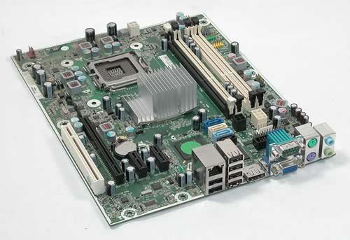 Hewlett Motherboard 001 Packard (HP 536458-001 8000 Elite SFF Motherboard SP: 536884-001)