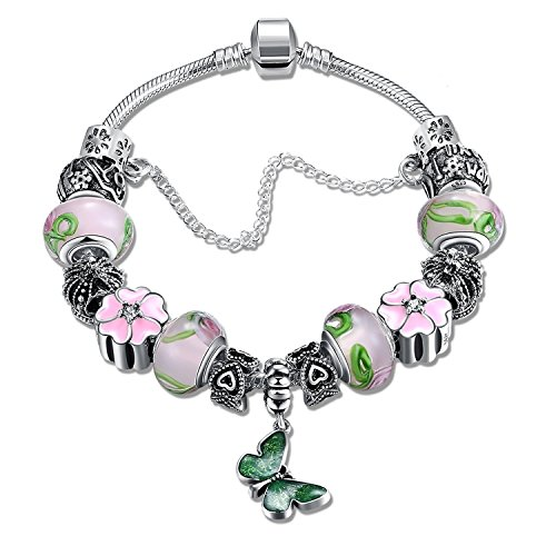 Young & Forever Timeless Treasure Charming DIY Charms stylish fashion gift bracelet for Women by Young & Forever