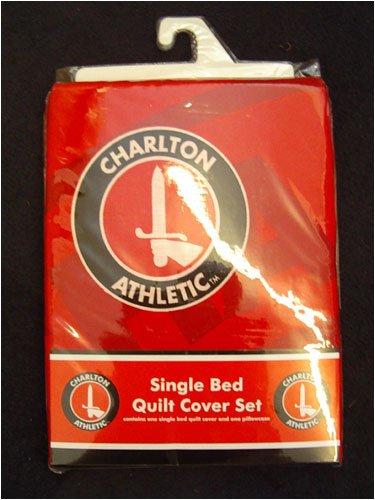Charlton Athletic de balón de fútbol funda de edredón y almohada ...