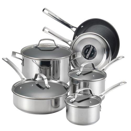 Circulon Genesis Stainless Steel Nonstick Cookware Set