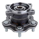 ECCPP Pair of 2 Rear Left and Right Wheel Hub Bearing Assembly Units for a 02-06 Nissan Altima 5 Lug