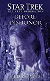 Front cover for the book Before Dishonor by Peter David