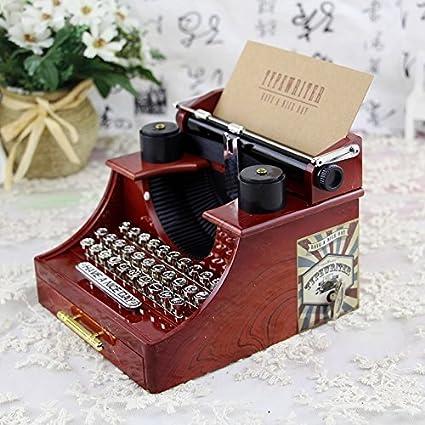 Speedmar Caja de joyería Musical para niños Joyero Retro Creativo de la Caja de música del