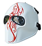 Invader King W III Airsoft Mask Army of Two Protective Gear Outdoor Sport Fancy Party Ghost Masks Bb Gun