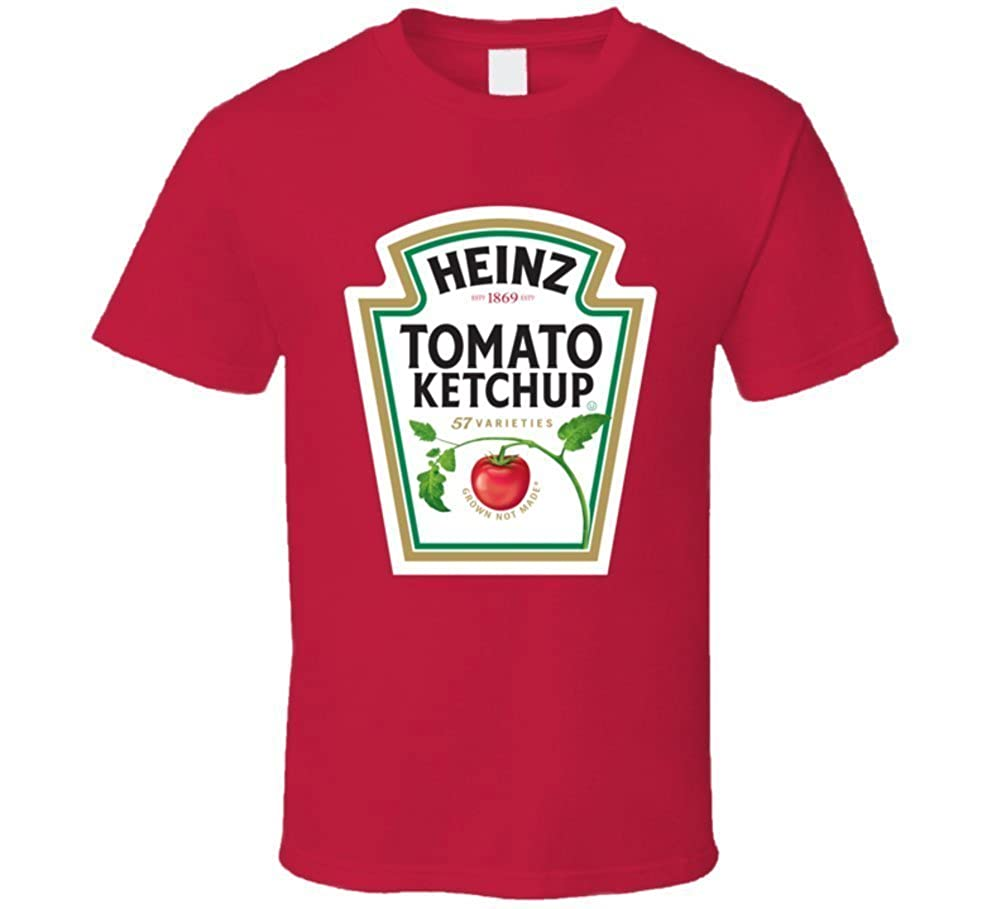 4c128081 Spreading Men's Heinz Tomato Ketchup Bottle Logo Funny Red T shirt:  Amazon.ca: Sports & Outdoors