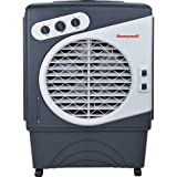 Honeywell Powerful Outdoor Portable Evaporative Cooler with Fan, Long-Lasting Honeycomb Pads on 3 sides & Copper Continuous Water Supply Connection, CO60PM