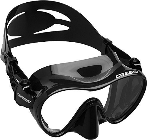 Cressi F1, black (Mask Black Diving)