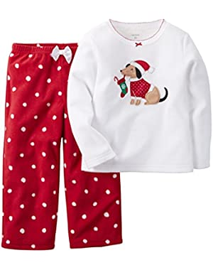 Baby Girls' 2 Piece PJ Set (Baby)