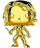 Funko Pop Marvel Studios 10-Black Widow (Gold Chrome) Collectible Figure, Multicolor