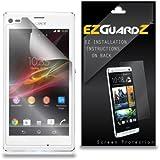 6-Pack EZGuardZ© Screen Protectors (Ultra CLEAR) For Sony XPERIA L C2105
