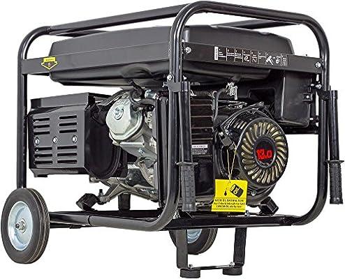 Generador de corriente, 5500 W, 13 CV, de gasolina, 230 V ...