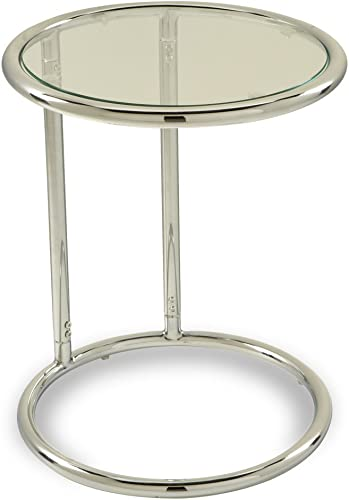 OSP Home Furnishings Yield Modern Round Table