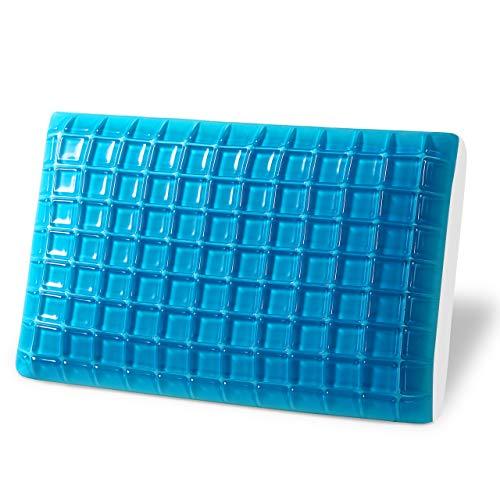 Gel Memory Foam Pillow - Reversible Cool