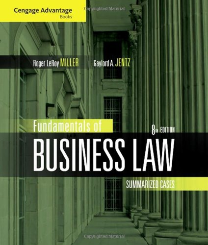 Business Law Book Pdf