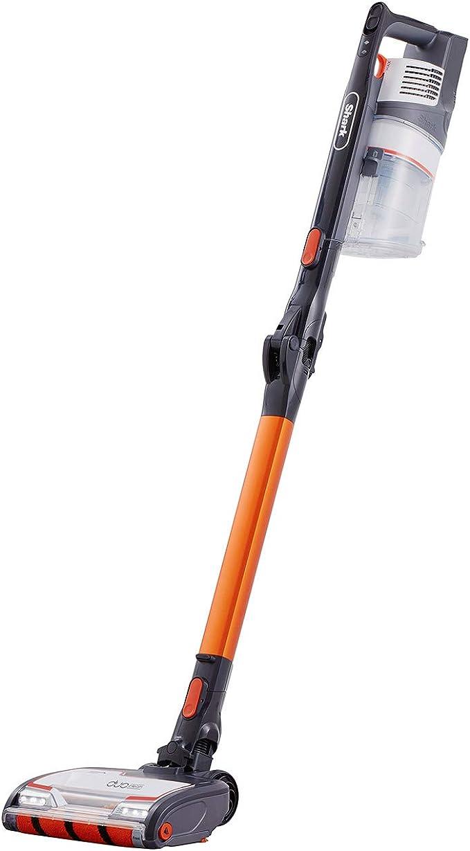 Shark Cordless Stick Vacuum Cleaner [IZ201UK] Anti Hair Wrap, Single Battery, Orange and White: Amazon.co.uk: Kitchen & Home