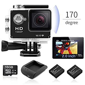 Hidden Camera- Alfheim 1080P Portable Mini Spy Cam with Night Vision & Motion Sensor, (Q11)