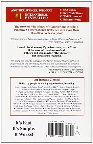 Download who moved my cheese an amazing way to deal with change in pdf who moved my cheese an amazing way to deal with change in your work and in your life e book online fandeluxe Image collections
