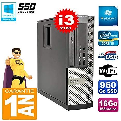 Dell PC 990 SFF Core I3-2120 - Memoria RAM de 16 GB, Disco Duro de ...