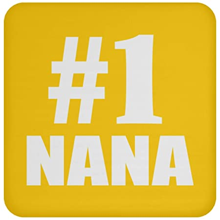 Number One #1 Nana - Drink Coaster Athletic Gold Posavasos ...