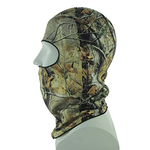 co2CREA Multi-Functional Wind UV proof Face Mask Outdoor Sports Balaclava for skiing, snowboarding, snow machining, hunting and more One size fits all and comes with LIFE TIME warranty 7-MILITARY CAMOUFLAGE JUNGLE CAMO
