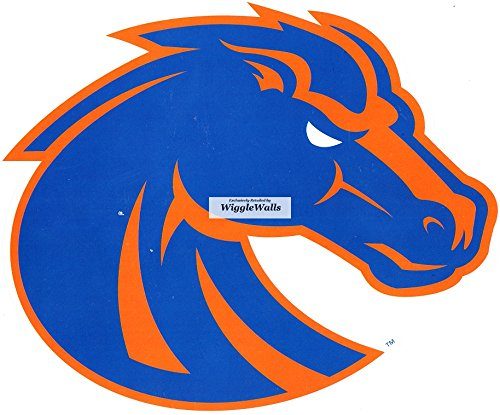 8 Inch Duster Bronco BSU Broncos Boise State University Logo Removable Wall Decal Sticker Art NCAA Home Room Decor 8 by 6.5 Inches