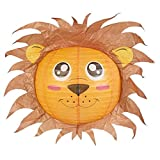 Lion Lampshade Decorative Animal Lampshades for Children bedroom playrooms baby nursery lighting Fun and vibrant colours makes Pendant lights and Ceiling shades something special and a great gift