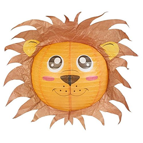Lion lampshade decorative animal lampshades for children bedroom lion lampshade decorative animal lampshades for children bedroom playrooms baby nursery lighting fun and vibrant colours mozeypictures Choice Image