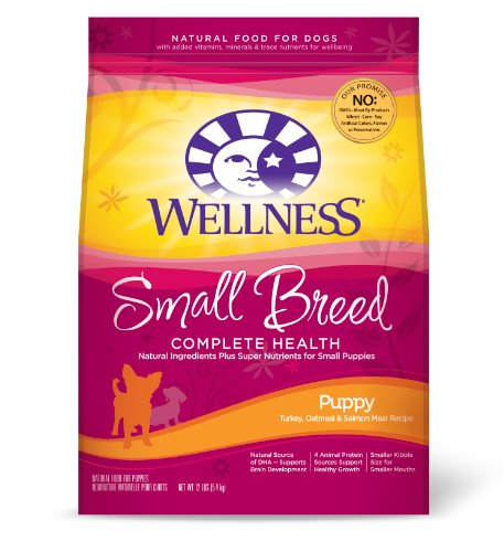 Wellness Small Breed Complete Health Puppy Recipe, 12-Pound Bag, My Pet Supplies