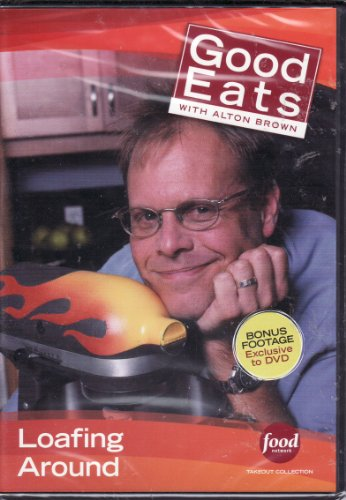 Food Network Takeout Collection DVD - Good Eats With Alton Brown - Loafing Around Includes Sandwich Craft / My Big Fat Greek Sandwich / dr Strangeloaf