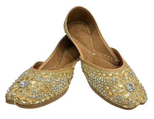 Shoes Indian Jutti Mojari Khussa Step Punjabi N Wedding Style Flip Flop Wg4BpS0qw