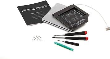 SSD/HDD adaptador MacBook (Pro) + Slot-in Superdrive carcasa USB