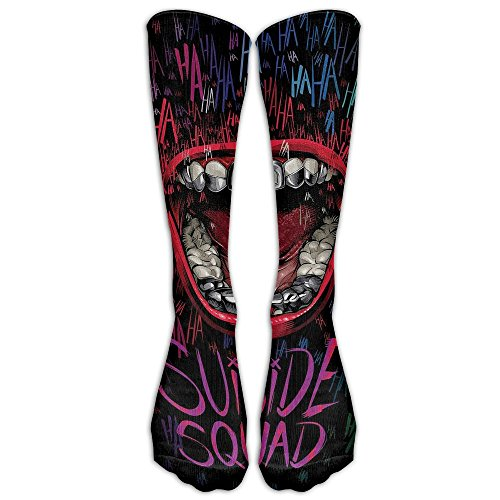 Cool Joker Costumes (Cool Joker-poster Fashion, Stylish, Comfortable, Soft Stockings Knee High Socks For Girls And Women, Easy To Clean)