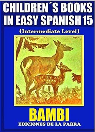 children s books in easy spanish 15 bambi intermediate