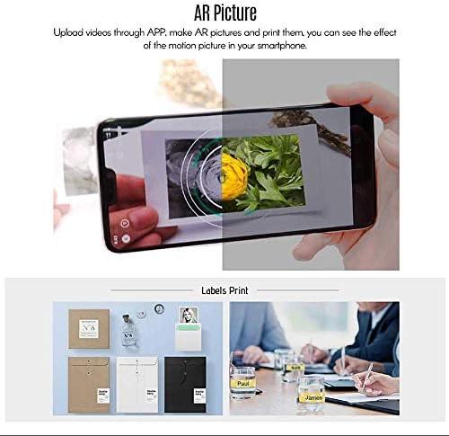 A8 Portátil Mini Pocket Wireless BT Impresora térmica Banco de ...
