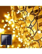Hunrim Solar Globe String Lights Fairy Lights