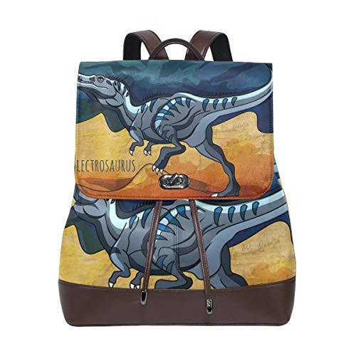 Mujer Talla Para Bolso Dragonswordlinsu Única Multicolor De Piel Mochila qgF1cRXw