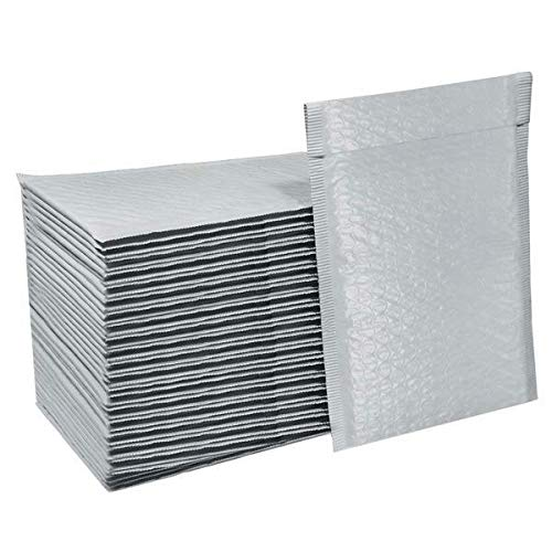 Case Mailer Dvd - BMP #0 6x10 Poly Bubble Mailers Padded Envelopes 6 x 10 inches DVD CD Bag Case, 50 Count