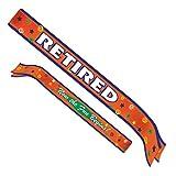 Beistle 60183 Retired Satin Sash, 33-Inch by 4-Inch