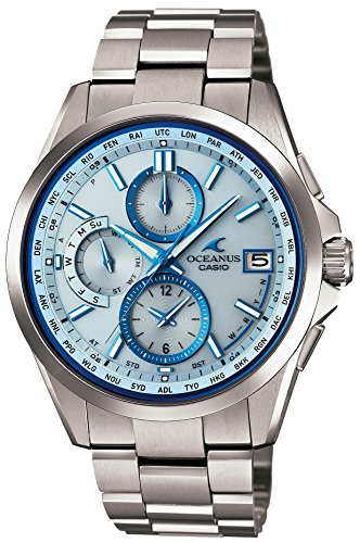CASIO Watch OCEANUS Classic Line World Six Stations Radio Waves Corresponding Solar Watch OCW-T2600-2AJF Men