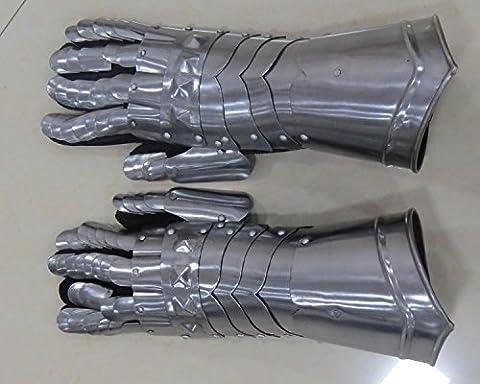 Medieval Gauntlets Gloves Finger Armor Middle Ages Sword Fighting LARP- NauticalMart