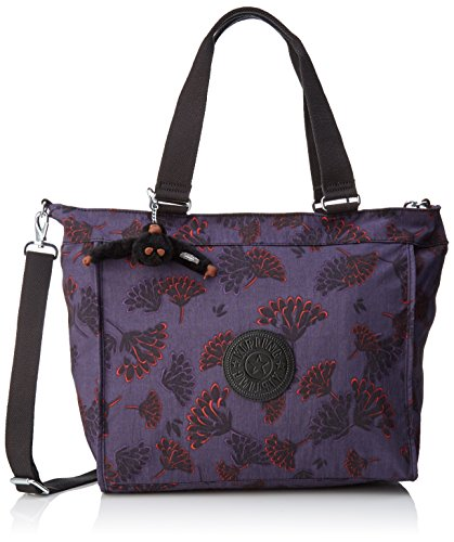 New Shopper Night Multicolour L Women's Floral Tote Kipling EqH50wxH